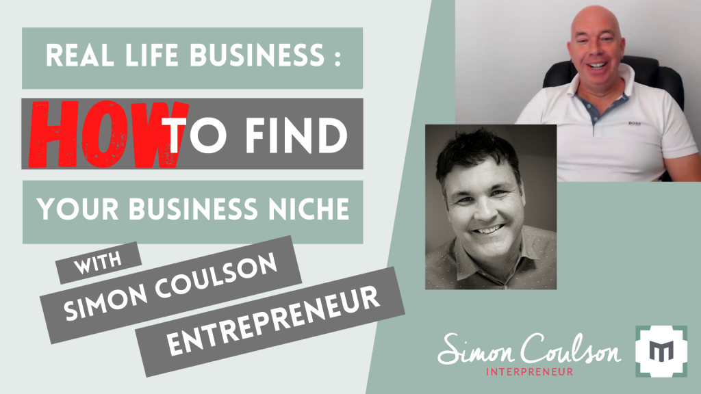 Entrepreneur, business coach and speaker Simon Coulson (founder of the Internet Business School) reveals HOW he looks for business niches. As a business owner, he shares how you can find niches within your existing market, to pivot your business.