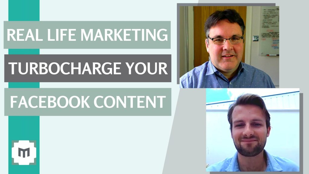 Real Life Marketing - Turbocharge Your Facebook Marketing Content. We reveal Facebook tactics every business owner is going to want to know. Ben Mariner shares incredible, actionable 'real-life' social media marketing tips, in conversation with Jeremy Mason as part of the 'Real Life Video Marketing' series.