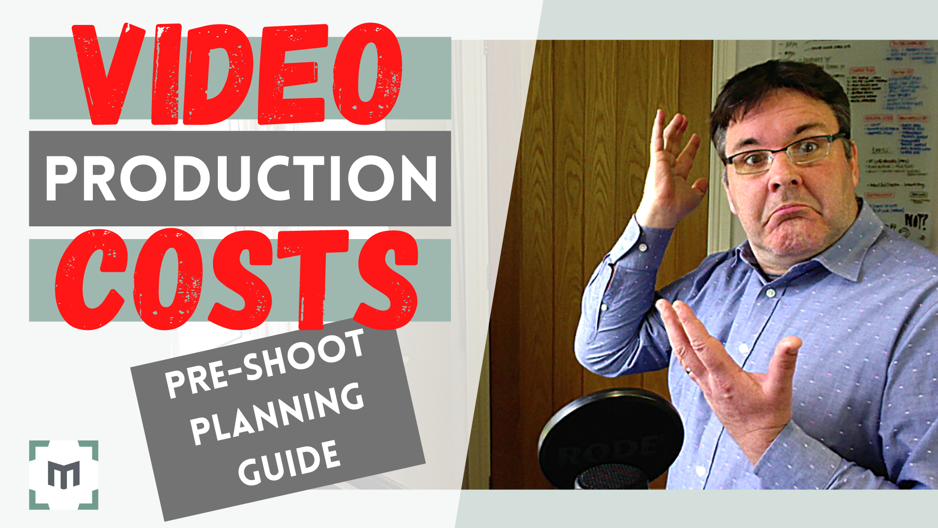 Video Production Costs - Pre-shoot planning guide Video Production Costs UK - Video Marketing Production Cost Guide What are video production costs in the UK? With this video production cost planning guide, we reveal how you can maximise your shoot efficiency to get the most out of your video marketing production budget.